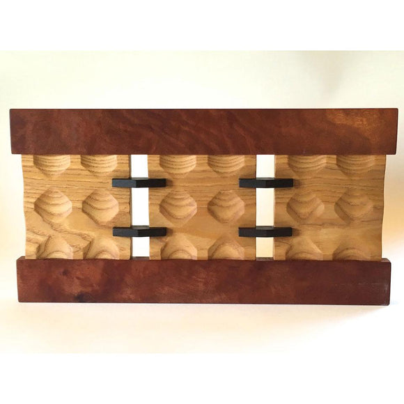 Edward Jacob Endless Panel Wall Sculpture Artistic Artisan Wooden Wall Sculptures