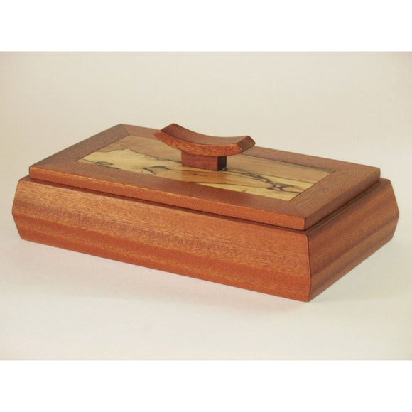 Edward Jacob Lift Top Box Artistic Artisan Wooden Boxes