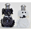 Four Sisters Art Glass Poodle Dog Blown Glass Salt and Pepper Shaker 250 Artistic Handblown Art Glass