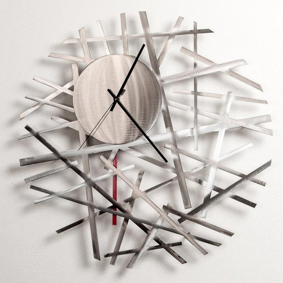 Girardini Design Contrails Wall Clock Artistic Arisan Designer Clocks