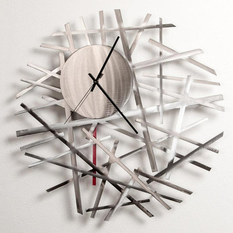 Contrails Wall Clock by Girardini Design