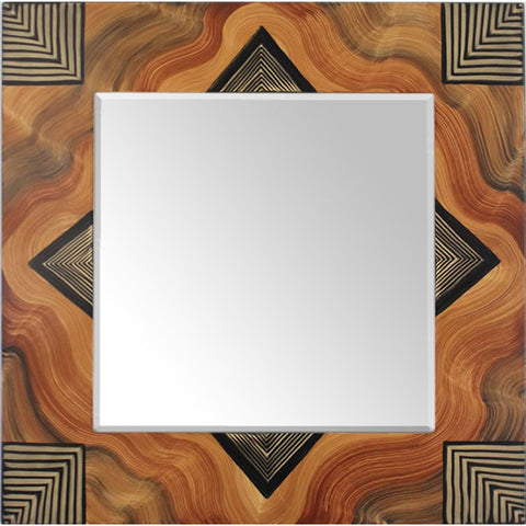 Arizona Square Mirror by Grant Noren