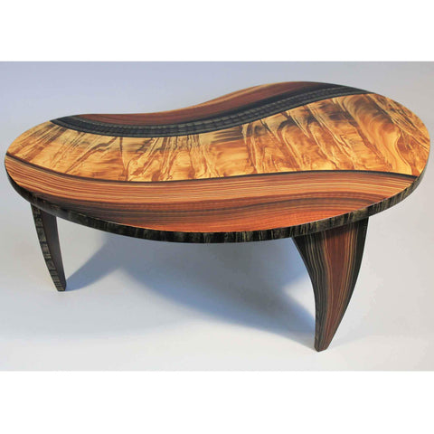 Grant Noren Bean Coffee Table Honey River Artistic Artisan Designer Tables