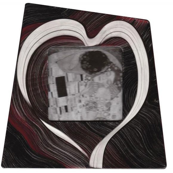 Grant Noren Faux Finish Wood Heart Photo Frame Hrt419 Artistic Artisan Designer Photo Frames
