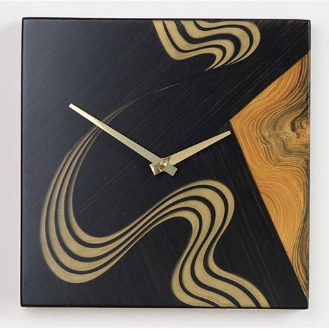 Kyoto Square Wall Clock by Grant Noren