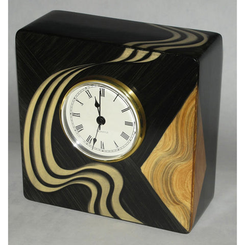 Grant Noren Kyoto Table Clock, Artistic Artisan Designer Clocks