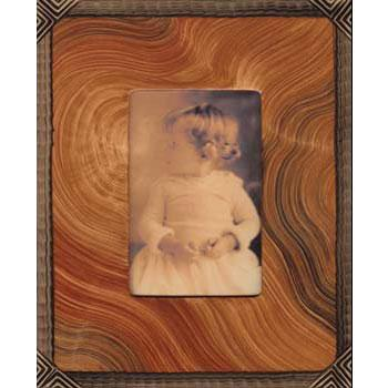 Grant Noren Painted Faux Finish Wood Photo Frame ARP105 Artistic Artisan Designer Photo Frames