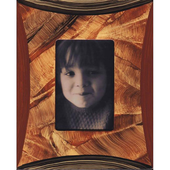 Grant Noren Painted Faux Finish Wood Photo Frame Arc15 Artistic Artisan Designer Photo Frames