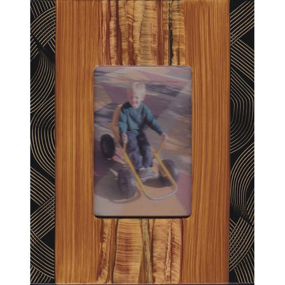 Grant Noren Painted Faux Finish Wood Photo Frame I109Mo Artistic Artisan Designer Photo Frames