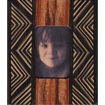 Grant Noren Painted Faux Finish Wood Photo Frame P14I15 Artistic Artisan Designer Photo Frames