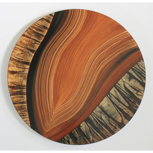 River Tiger Lazy Susan by Grant Noren