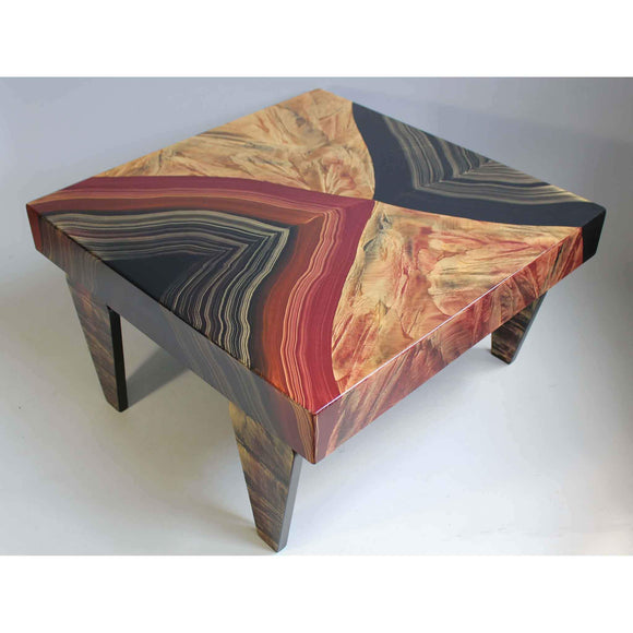 Grant Noren Square Coffee Table Vienna Artistic Artisan Designer Coffee Tables