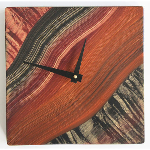 Tiger River  Desk-Table Clock by Grant Noren