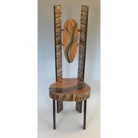 Grant Noren Tree Wing Chair, Artistic Artisan Designer Chairs