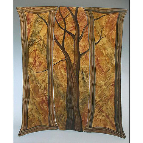 Grant Noren Tree Folding Screen, Artistic Artisan Designer Folding Screens