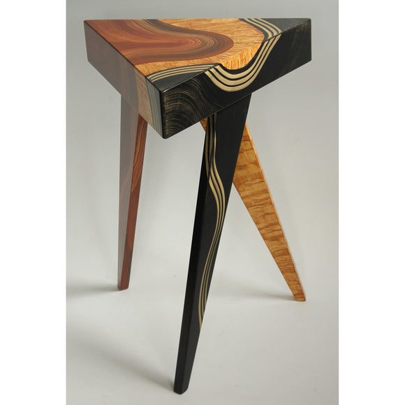 Grant Noren Vienna Triangle Table, Artistic Artisan Designer Tables