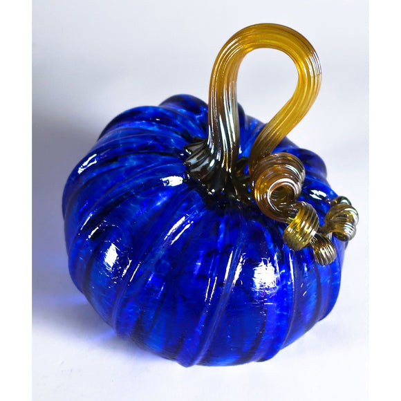 Grateful Gathers Glass By Danny Polk Jr Pumpkin 13 Artisan Crafted Hand Blown American Art Glass