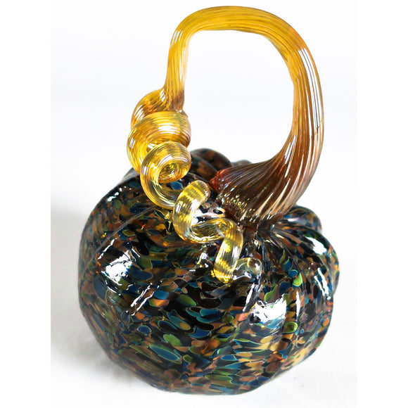 Grateful Gathers Glass By Danny Polk Jr Pumpkin 2 Artisan Crafted Hand Blown American Art Glass