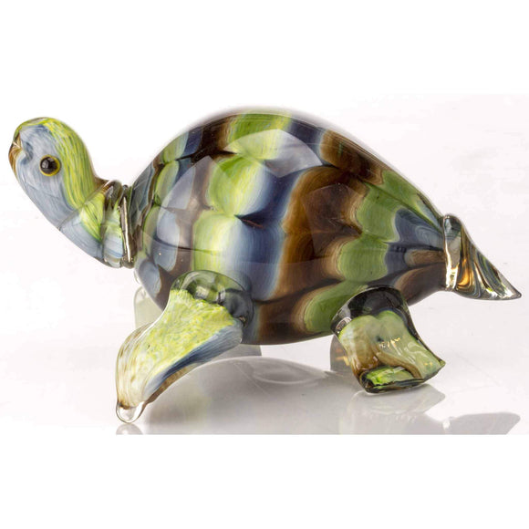 Hudson Glass Turtle 998 Artistic Artisan Handcrafted Blown Glass