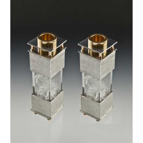 Candle Holders 168 Wedding Shard by Joy Stember Metal Arts Studio
