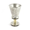 Kiddush Cup 170 Round by Joy Stember Metal Arts Studio