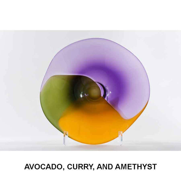 A. Avocado, Curry, and Amethyst