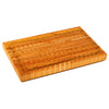 Larch Wood Carver's CAR End Grain Cutting Board