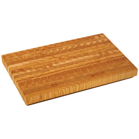 Large LG End Grain Cutting Board by Larch Wood