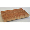 Larch Wood Small One Hander OHSM End Grain Cutting Board