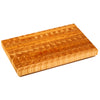 Larch Wood Small SM End Grain Cutting Board