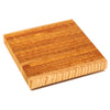 Larch Wood Square SQ End Grain Cutting Board