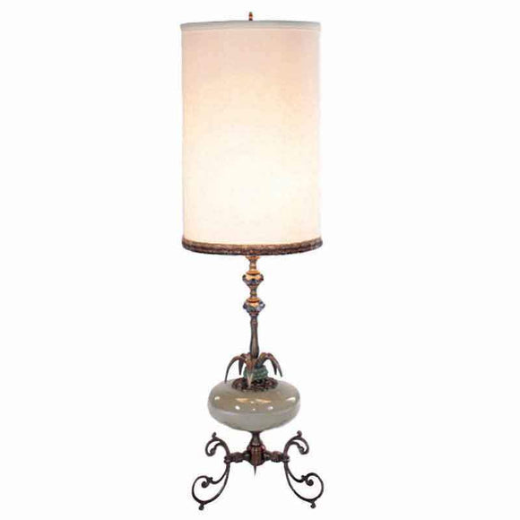 Luna Bella Crema Table Lamp Artistic Artisan Designer Table Lamps