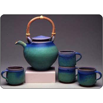 Tea Set Extra Large by Maishe Dickman
