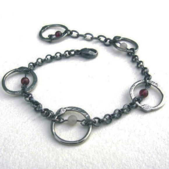 Metallic Evolution Links Bracelet JLNKB05 Artistic Artisan Jewelry