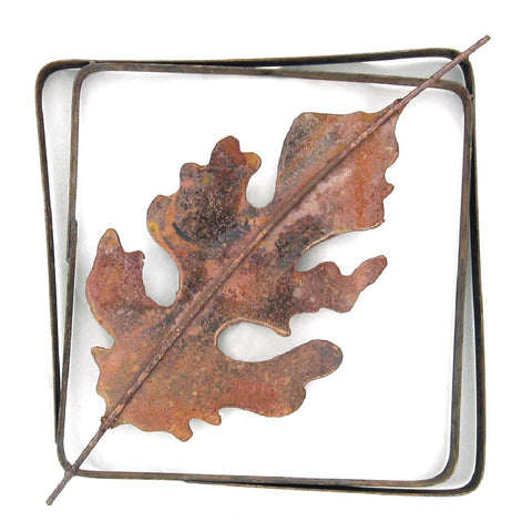 Metallic Evolution Outdoor Oak Leaf Steel Frame XL LFRX-03, Small LFR-03, Artistic Artisan Sculptural Metal Wall ArtMetallic Evolution Outdoor Oak Leaf Steel Frame XL LFRX-03, Artistic Artisan Sculptural Metal Wall Art