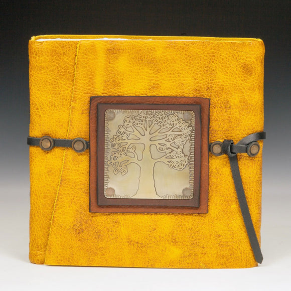 Mind's Eye Journals by Teresa Merriman Deep Rooted Journal Artistic Artisan Hand Crafted Journals and Scrapbooks