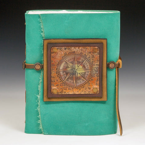 Mind's Eye Journals by Teresa Merriman Earthbound Journal Artistic Artisan Hand Crafted Journals and Scrapbooks