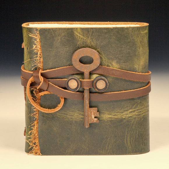 Mind's Eye Journals by Teresa Merriman Lil Camper Journal Artistic Artisan Hand Crafted Journals and Scrapbooks