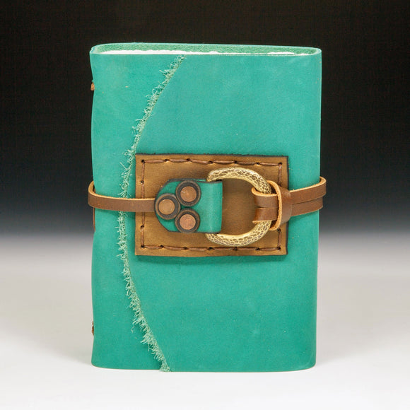 Mind's Eye Journals by Teresa Merriman Roaming Goat Journal Artistic Artisan Hand Crafted Journals and Scrapbooks