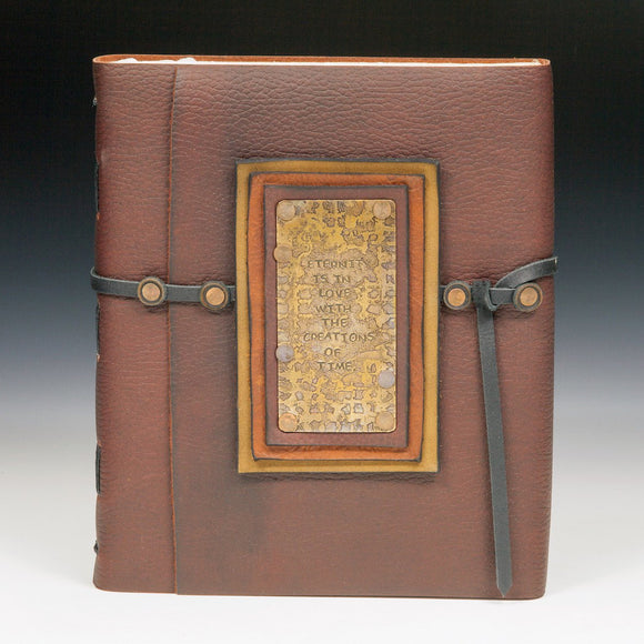 Mind's Eye Journals by Teresa Merriman The Blake Journal Artistic Artisan Hand Crafted Journals and Scrapbooks