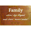Prairie Dance Metal Wall Art Family Artistic Artisan Designer Signs
