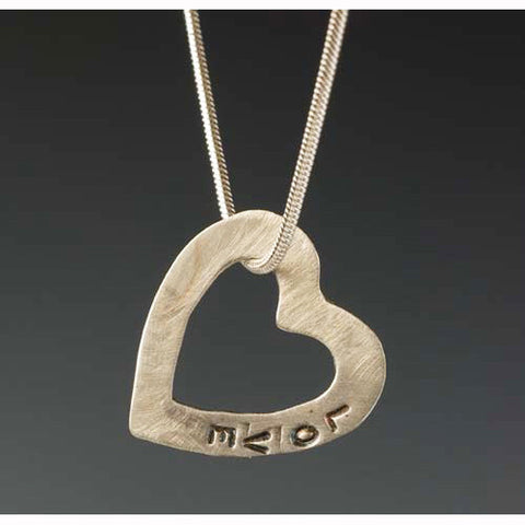 Sherri Cohen Design Open Your Heart Necklace, Artistic Artisan Designer Jewelry