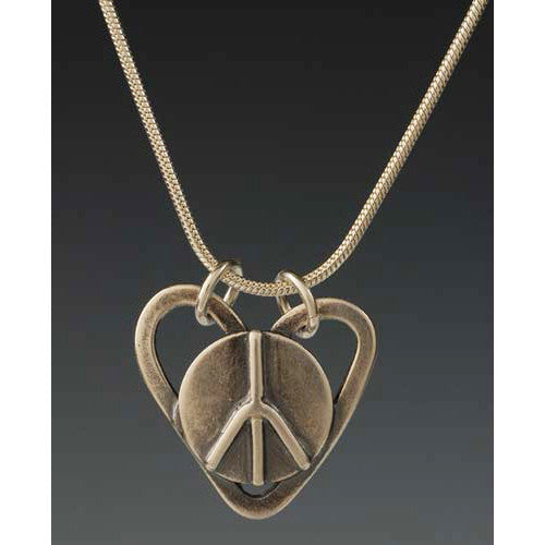 Sherri Cohen Design Peaceful Heart Necklace, Artistic Artisan Designer Jewelry