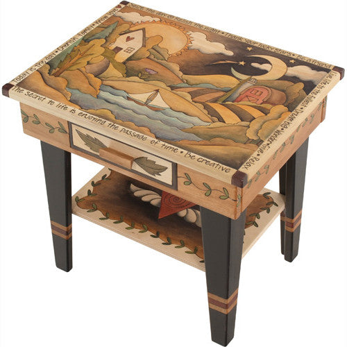 Sticks Accent Night Table NGT006 S316727, Artistic Artisan Designer Tables