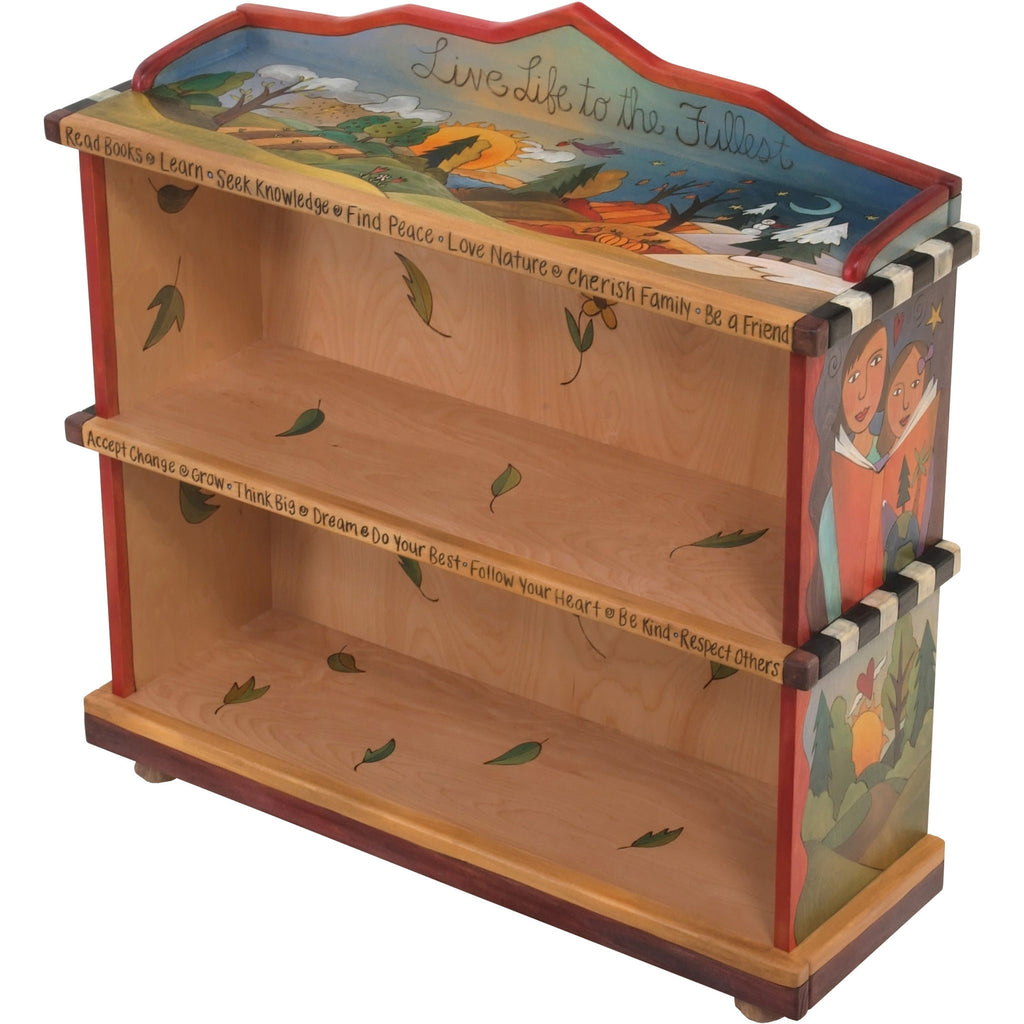 Bookcase by Sticks BCS001-S316186, Artistic Artisan Designer Bookcases