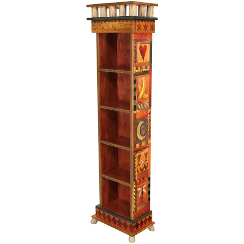 Bookcase by Sticks BCS002-S310987, Artistic Artisan Designer Bookcases