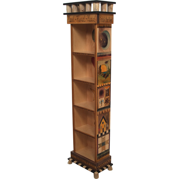 Bookcase by Sticks BCS002-S314761, Artistic Artisan Designer Bookcases