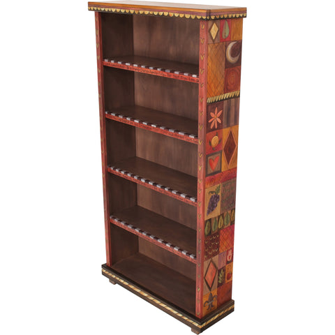 Bookcase by Sticks BCS003-S313552, Artistic Artisan Designer Bookcases