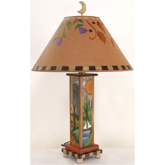 Box Table Lamp by Sticks BTL001-S312878, Artistic, Artisan, Designer Lamps