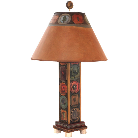 Sticks Box Table Lamp BTL001-S35420, Artistic, Artisan, Designer Lamps
